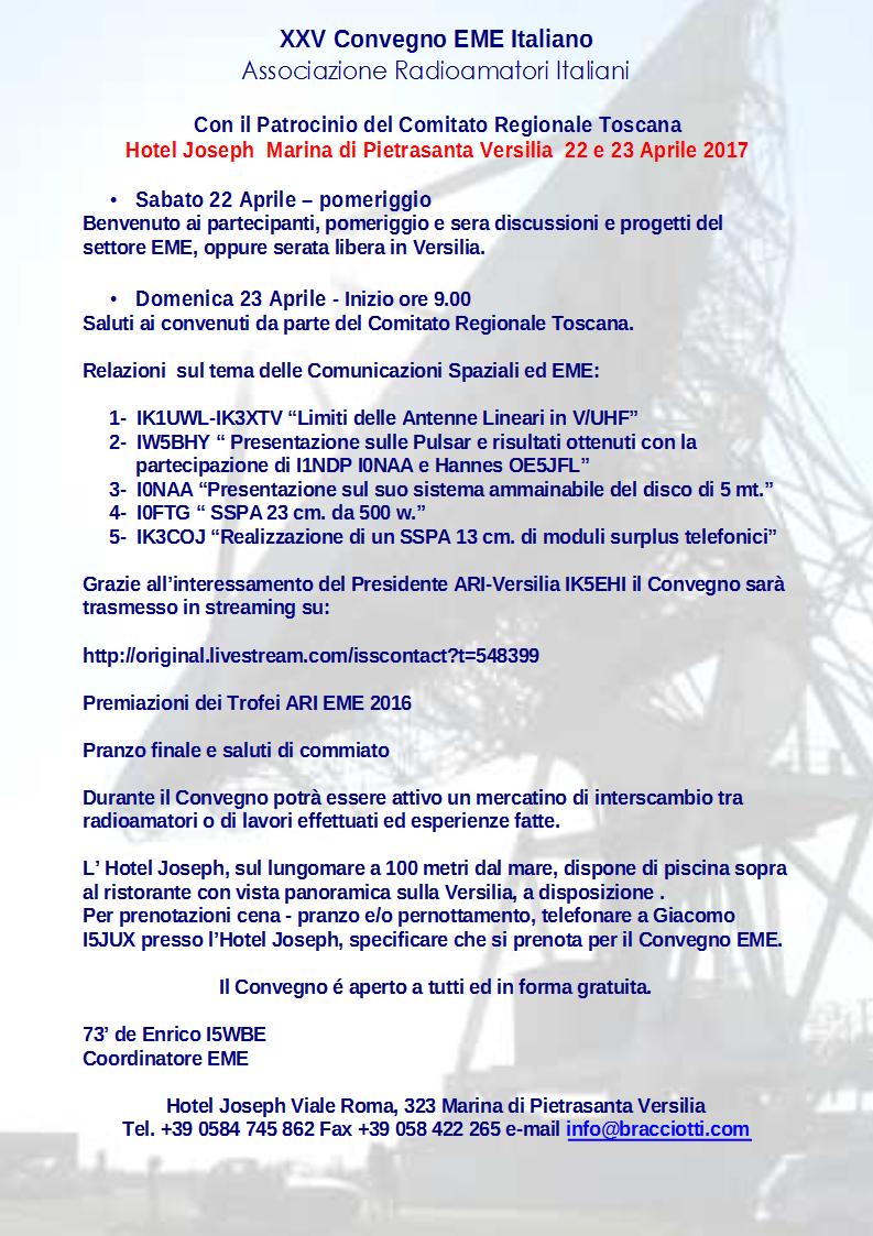 Convegno EME Italiano 2017