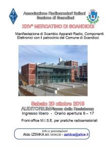 Mercatino Scandicci 2018